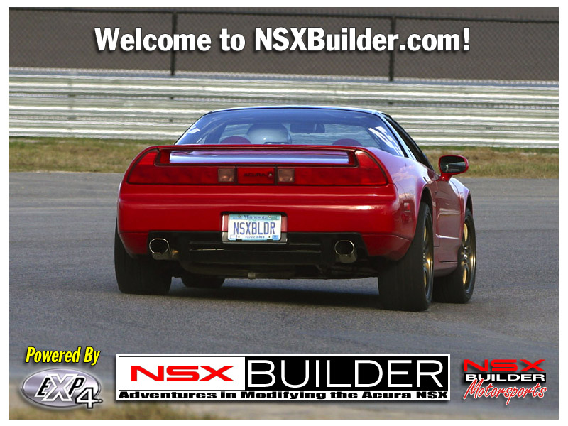 NSX Builder - Adventures in Modifying the Acura NSX